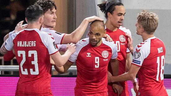 WM-Quali: ÖFB-Gegner Dänemark schießt Moldawien ab
