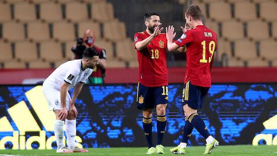 WM-Quali: Siege für Spanien und Italien