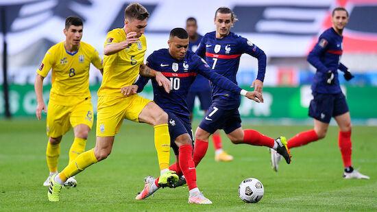 Ukraine knöpft Frankreich Punkt ab