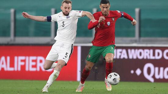 Portugal müht sich zu Sieg gegen Aserbaidschan