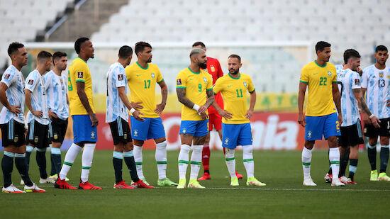 FIFA untersucht Skandalspiel Brasilien-Argentinien