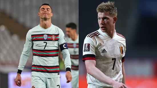 WM-Quali: Portugal und Belgien um zweite Siege