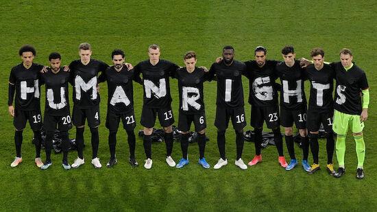 Human-Rights-Botschaft: DFB-Team setzt ein Zeichen