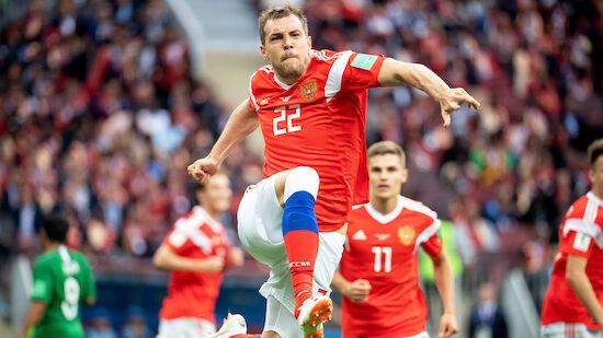 Russland nach Sieg gegen Slowenien makellos