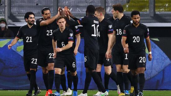 Blitzstart bei Deutschland-Sieg über Island