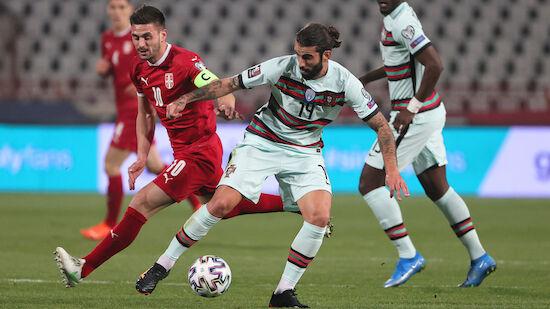 Portugal und Belgien patzen in WM-Quali