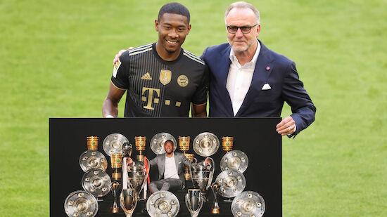 Bayern-Kantersieg bei Alaba-Abschied