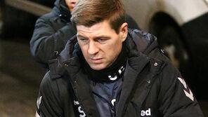 Gerrards kurzer Moment der Emotionen