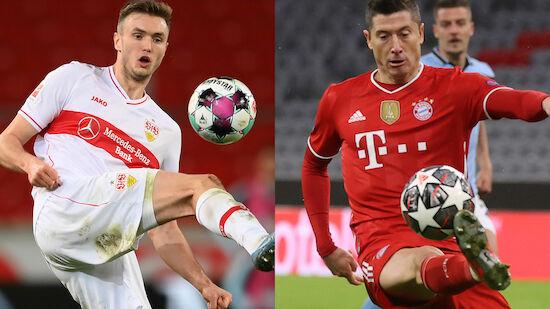 Kalajdzic vs. Lewandowski - Duell der Torjäger