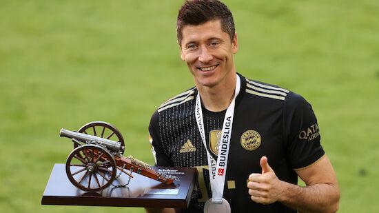 Lewandowski jagt den nächsten Müller-Rekord
