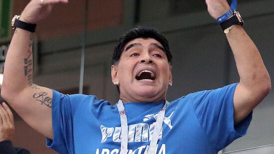 Kritik an mangelhafter Versorgung von Maradona