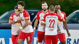 Ungeschlagen: RB Salzburg in erlesenem Kreis