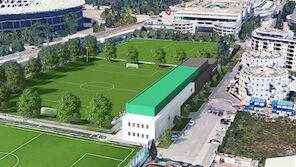 Rapids Trainingszentrum nun fix!