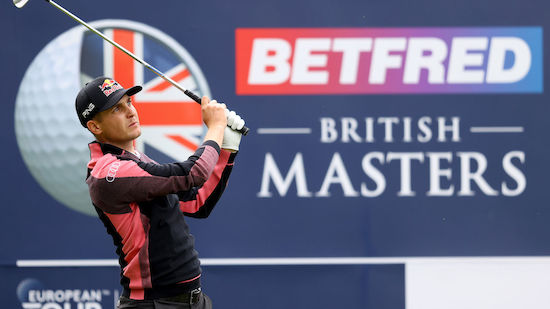 Schwab spielt bei British Masters um den Sieg mit