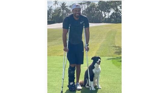 Tiger Woods: 1. Foto nach Unfall am Golfplatz