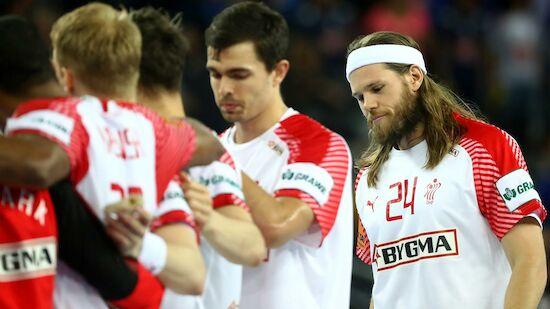 Handball-EM für Weltmeister Dänemark vorbei