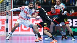 EM: Kroatien entscheidet Handball-Krimi für sich