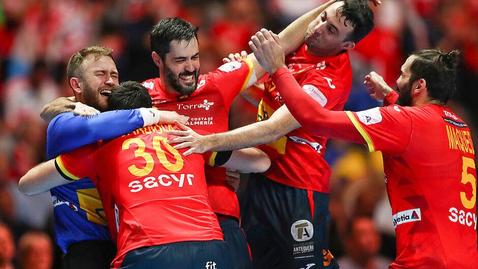 Handball Spanien Gegen Kroatien