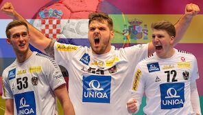 Diese Kaliber erwarten Österreichs Handballer