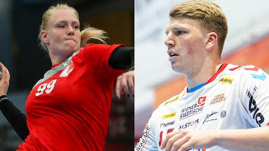 Hutecek und Reichert sind Handballer des Jahres