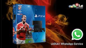 Gewinne eine PlayStation 4!