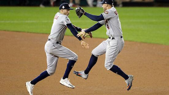 Astros siegen - World Series wieder völlig offen
