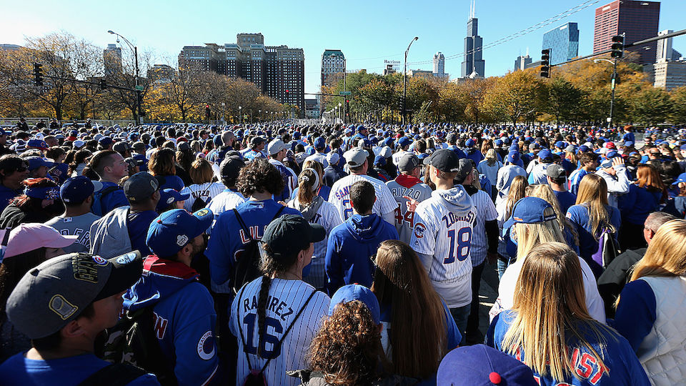 Chicago Cubs Party World Series