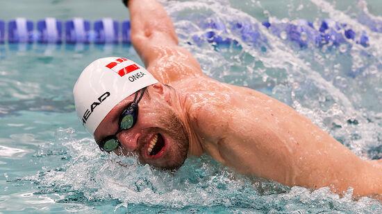 Behindertensport: EM-Bronze für Schwimmer Onea
