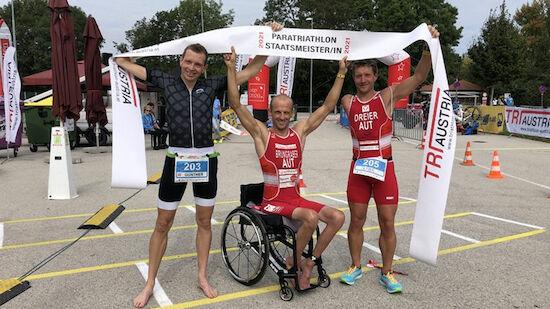 Triathlon: Para-Staatsmeistertitel in St. Pölten