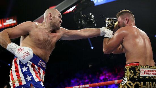 Boxen: Ex-Weltmeister Fury zu stark für Schwarz