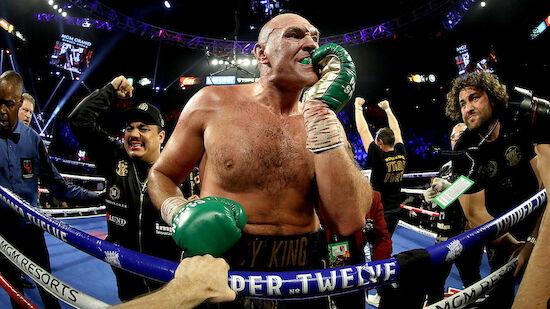 Tyson Fury fordert Joshua: 12 Bier pro Tag!