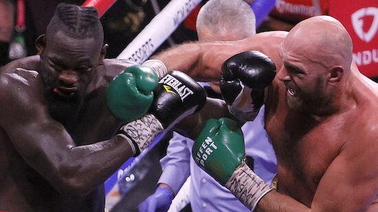 Tyson Fury entthront WBC-Weltmeister Wilder