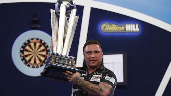 Gerwyn Price erstmals Darts-Weltmeister