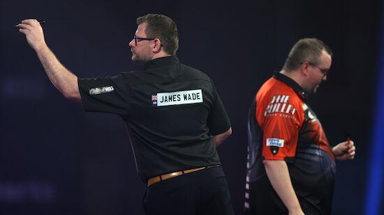 Wade scheitert bei Darts-WM trotz 9-Darter