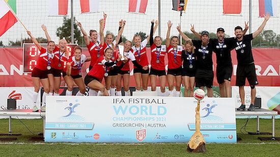Faustball-Frauen holen bei Heim-WM Silber