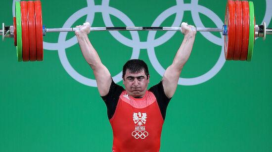 Gewichtheben: Martirosjan für Olympia qualifiziert