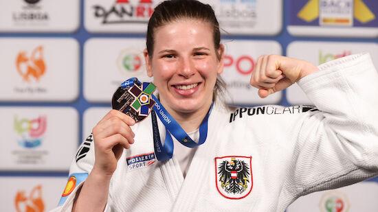 Judo: Bernadette Graf jubelt über EM-Bronze