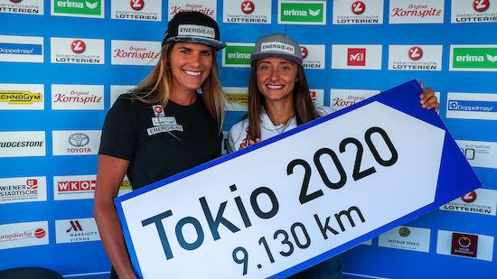 Tokio 2020: Olympia-Ticket für Kanutinnen