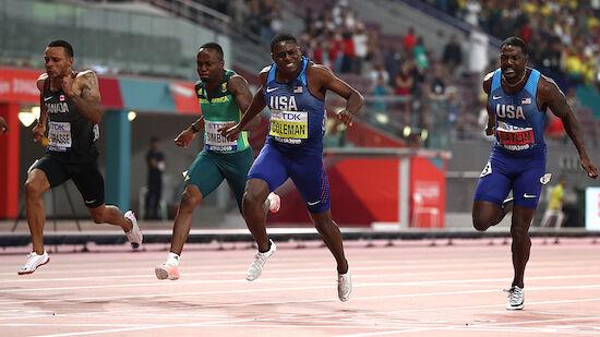 Sprint-Weltmeister Coleman im Kreuzverhör