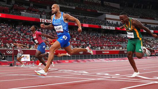 Sensation im 100m-Finale - Italiener Jacobs siegt!