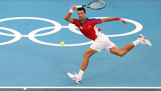 Djokovic stürmt ins Olympia-Achtelfinale