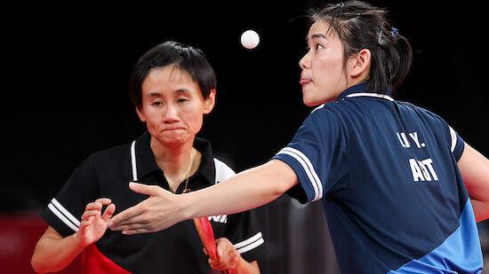 Olympia: Horror-Los für Tischtennis-Damen