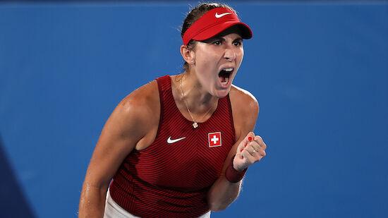 Schweizerin Belinda Bencic holt Tennis-Gold