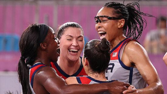 Erste Olympia-Medaillen im 3x3-Basketball vergeben