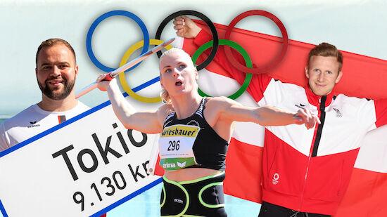 Sie sind Österreichs große Medaillen-Kandidaten