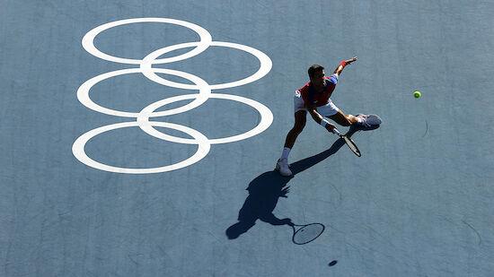 Djokovic problemlos im Viertelfinale