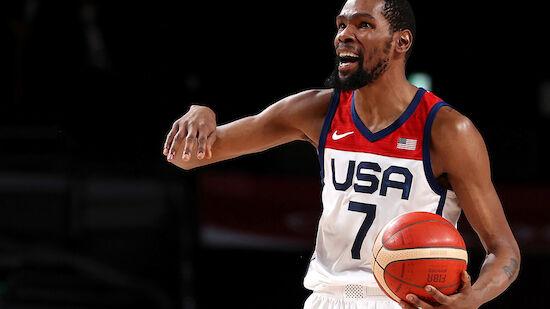 USA mit Aufholjagd ins Basketball-Finale