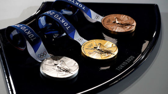 Medaillenspiegel der Olympischen Spiele in Tokio