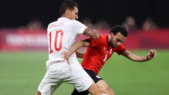 Spaniens Fußballer legen Olympia-Fehlstart hin