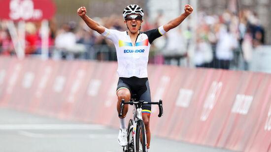 Carapaz holt Olympia-Gold im Straßenrennen